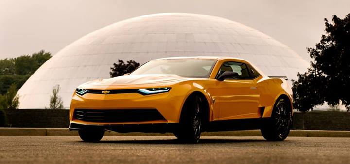 2014 Camaro Bumblebee Concept Revealed For Transformers 4