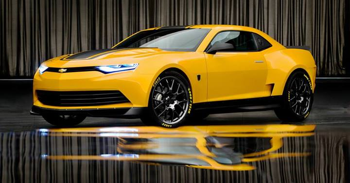 2014 Camaro Bumblebee Concept Revealed for Transformers 4 Movie