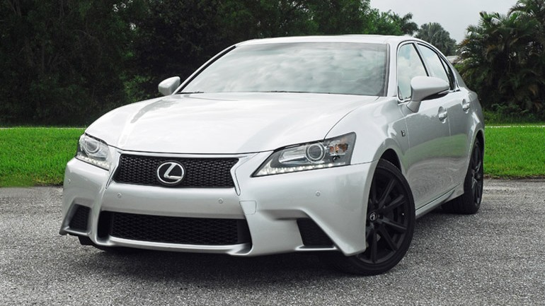 2013 Lexus GS 350 F Sport Review & Test Drive