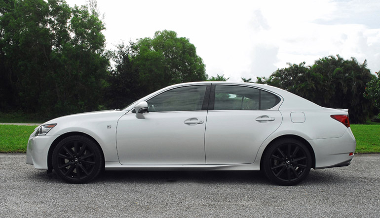 Captivating 2013 Lexus GS350 FSport Beauty Side LA Done Small