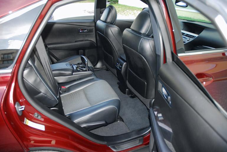 2013 Lexus RX F Sport Back Seats Done Small