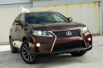 2013 Lexus RX F Sport Beauty Left Up Done Small