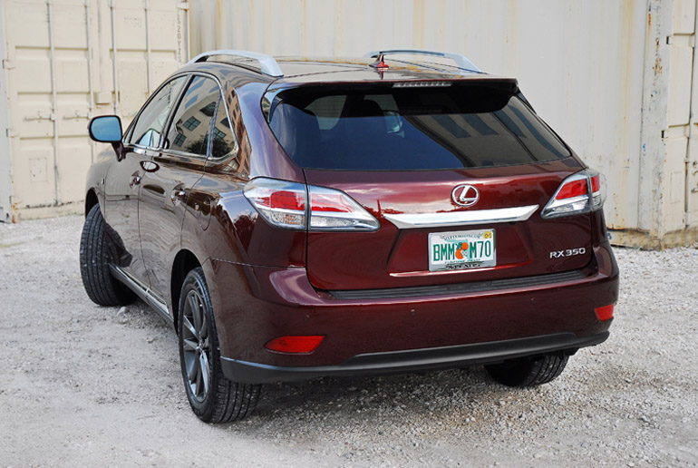 2013 Lexus RX F Sport Beauty Rear Done Small