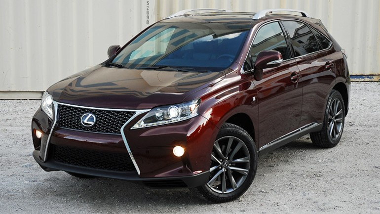 2013 Lexus RX 350 F Sport Review & Test Drive