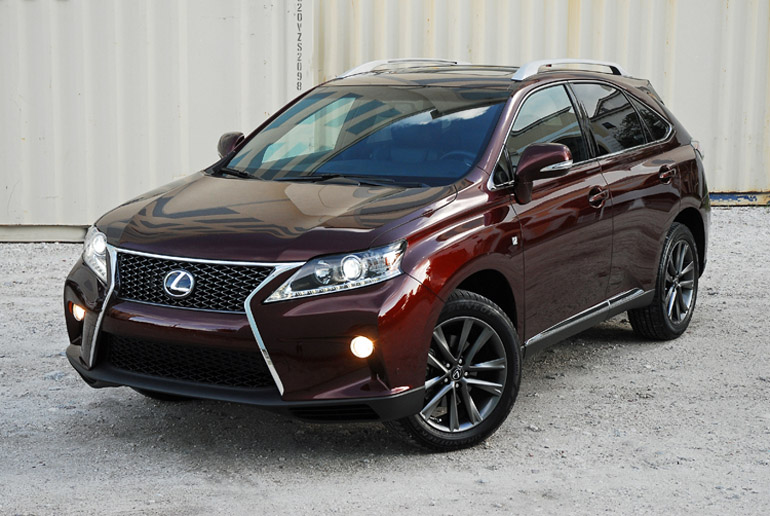 2013 Lexus RX F Sport Beauty Right Done Small