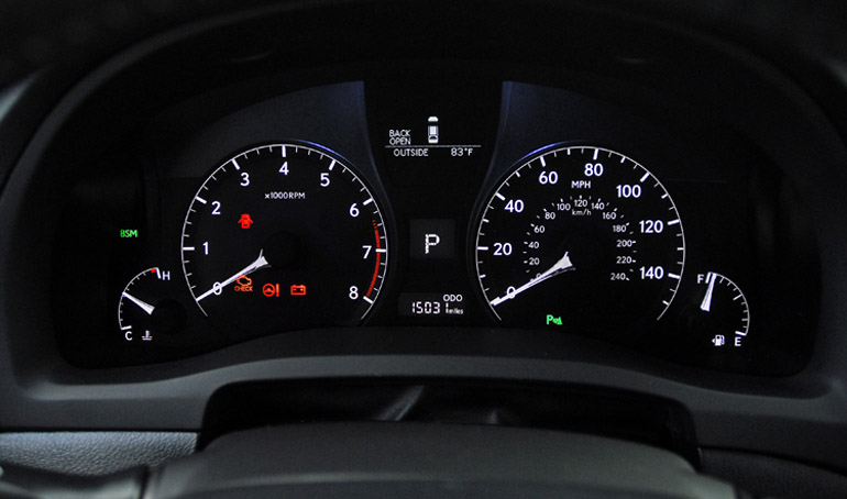 2013 Lexus RX F Sport Cluster Done Small