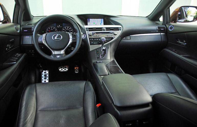 2013 Lexus RX F Sport Dashboard Done Small