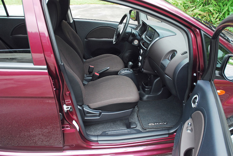 2013 Mitsubishi i-MEV Electric Front Seats Done Small