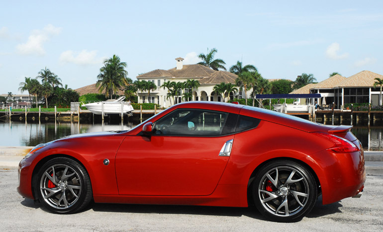 2013 Nissan 370Z Sport Touring Coupe Beauty Side Done Small