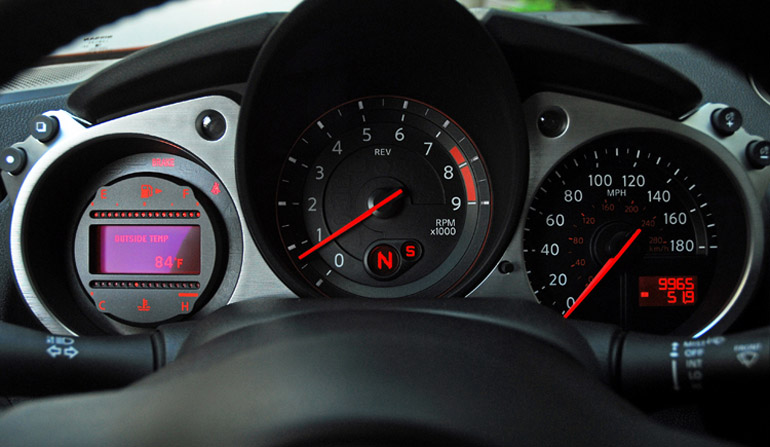 2013 Nissan 370Z Sport Touring Coupe Cluster  Done Small