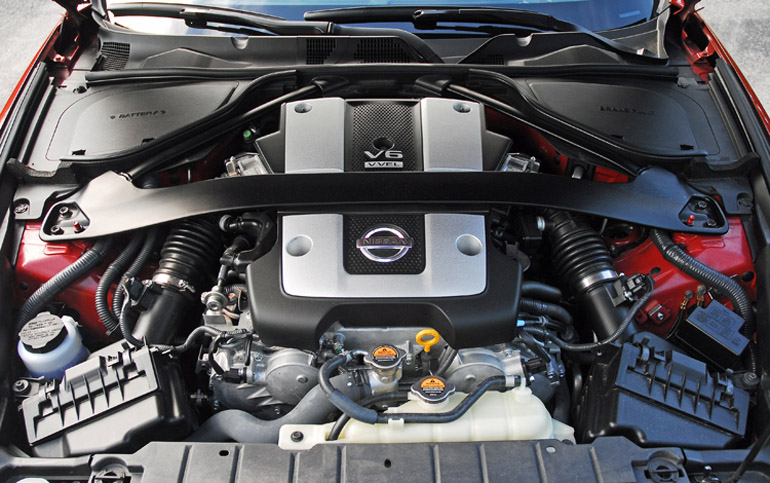 2013 Nissan 370Z Sport Touring Coupe Engine Done Small