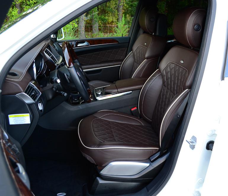 2013-mercedes-benz-gl350-bluetec-front-seats : Automotive