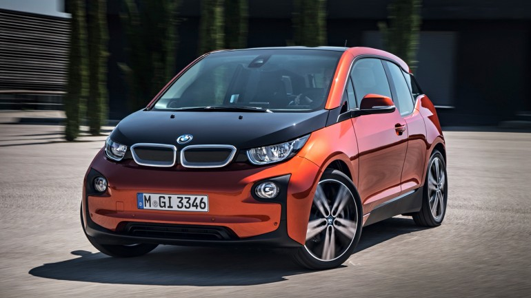 The all-electric BMW i3: Video