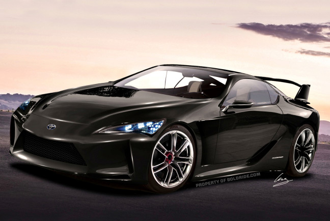 2015 toyota supra concept rendering emerges to stir rumors again. Black Bedroom Furniture Sets. Home Design Ideas