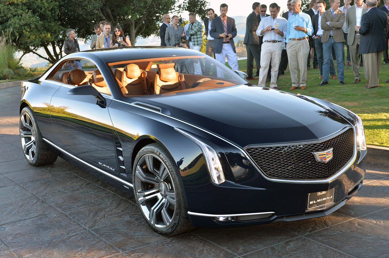 Cadillac Elmiraj Concept Emerges From Design To Stun Onlookers At Pebble Beach