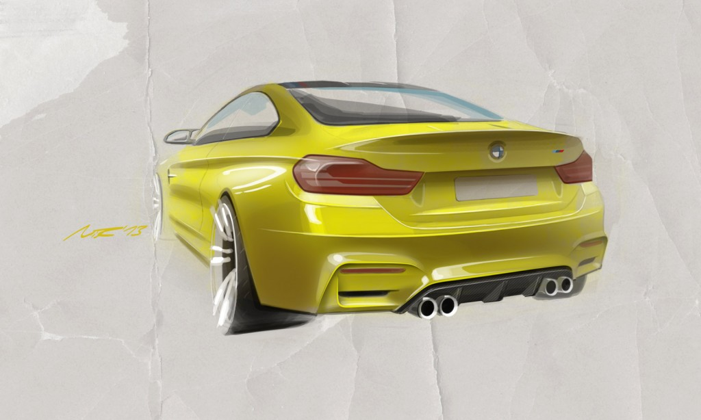 Bmw M4 Coupe Concept Revealed Ahead Of Pebble Beach Live Display