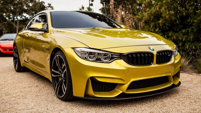 BMW M4 Coupe Concept Appears at Pebble Beach – First Live Photos