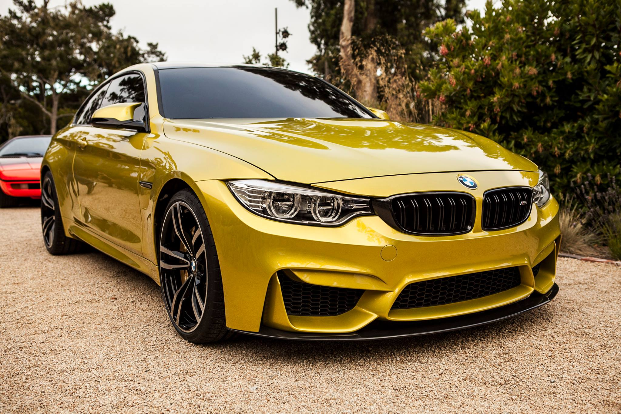 Bmw M4 Coupe Concept Appears At Pebble Beach First Live Photos