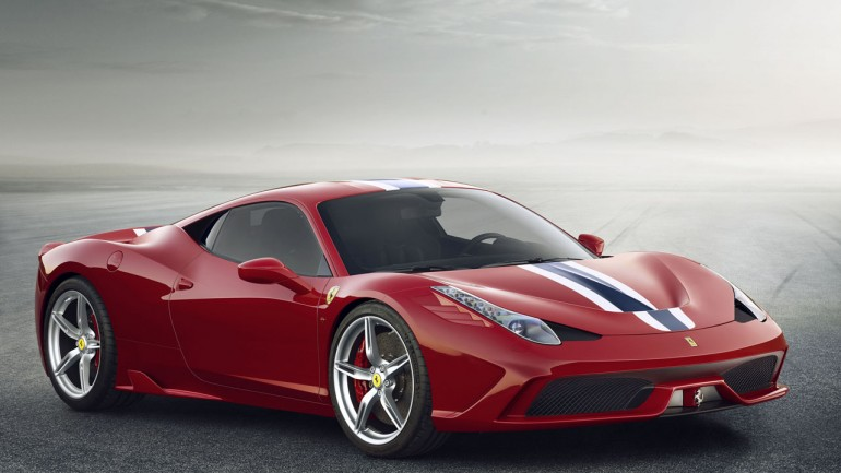 Ferrari Breaks Cover of Hardcore 458 Speciale
