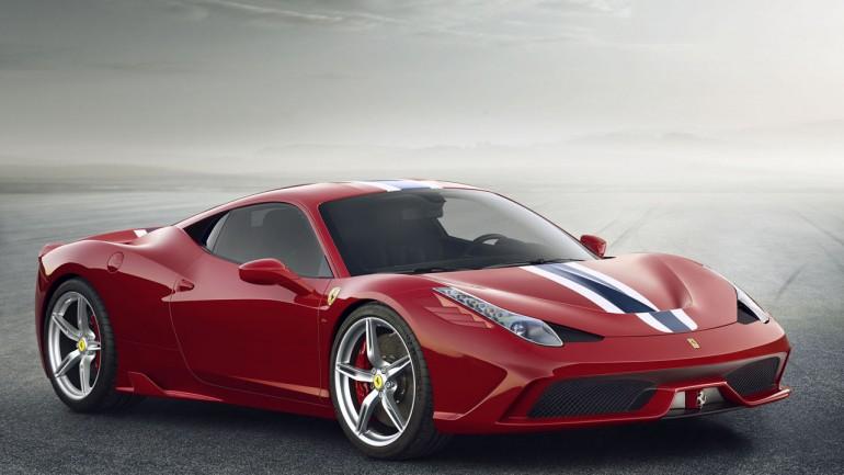 Ferrari Breaks Cover of Hardcore 458 Speciale