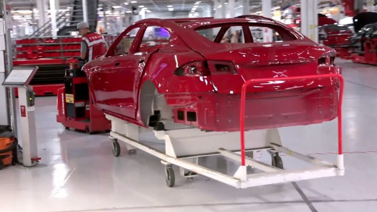 How Tesla Motors Builds Electric Cars: Video
