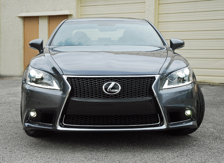 2013 Lexus LS460 F Sport Beauty Headon Done Small