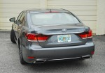 2013 Lexus LS460 F Sport Beauty Rear Done Small