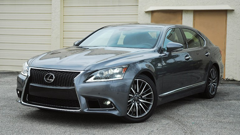 2013 Lexus LS 460 F Sport Review & Test Drive