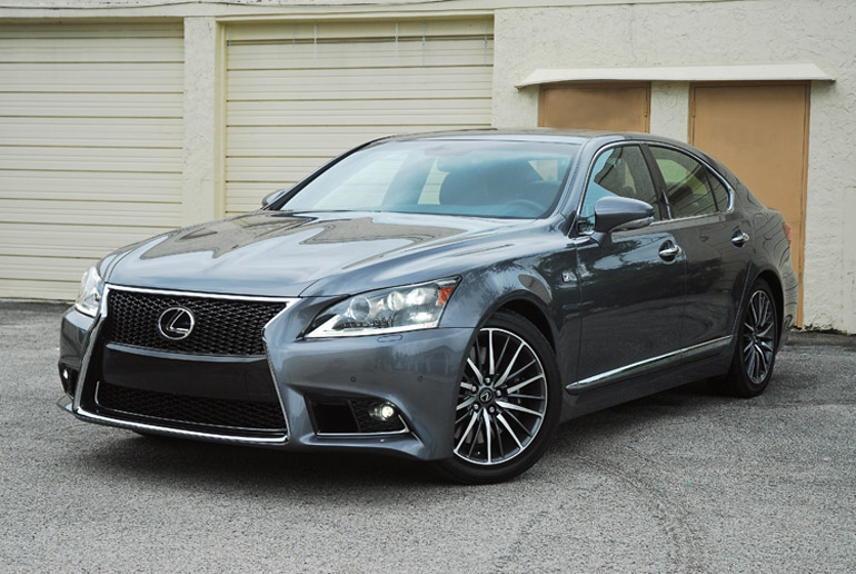 2013 Lexus LS460 F Sport Beauty Right Done Small