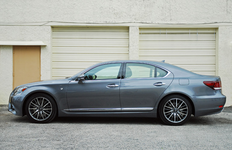 2013 Lexus LS460 F Sport Beauty Side Done Small
