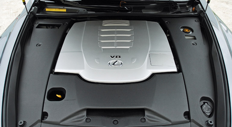 2013 Lexus LS460 F Sport Engine Done Small