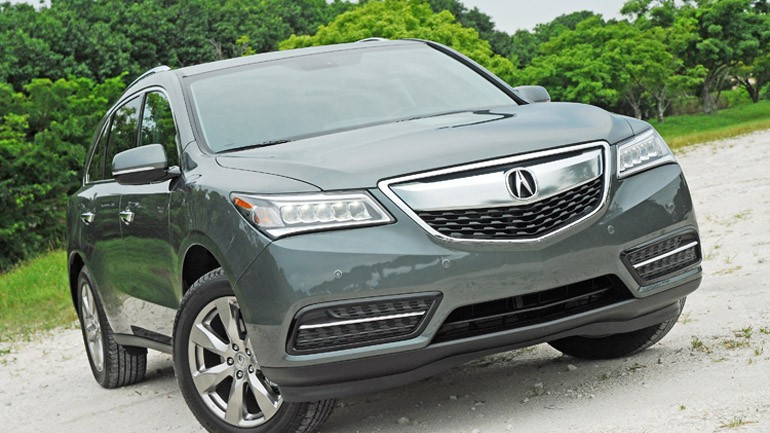 2014 Acura MDX AWD Review & Test Drive