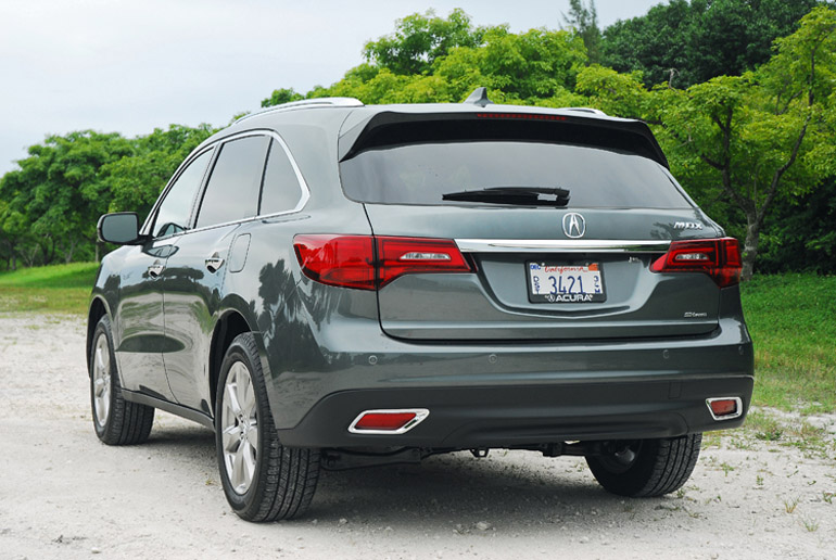 2014 Acura MDX Beauty Rear Done Small