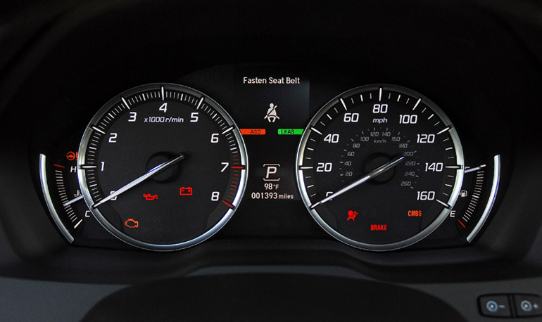 2014 Acura MDX Cluster Done Small