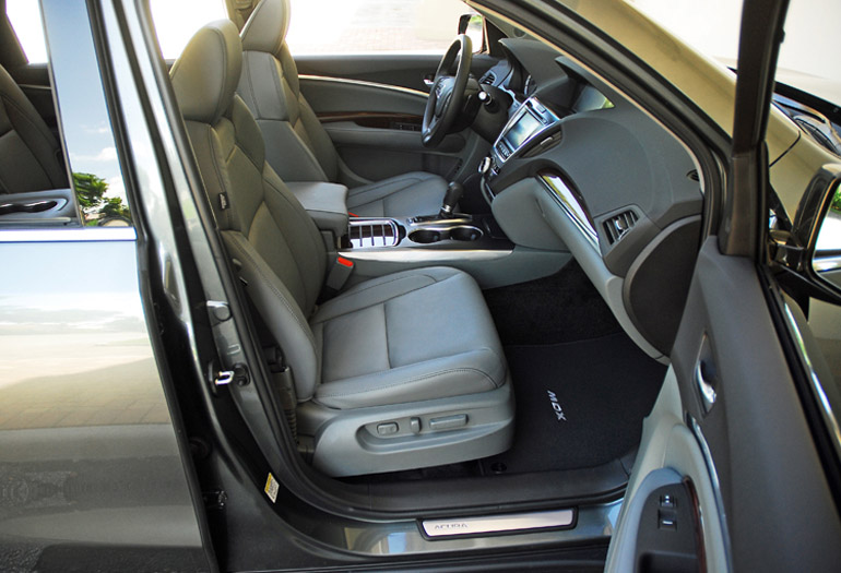 2014 Acura MDX Front Seats Done Small