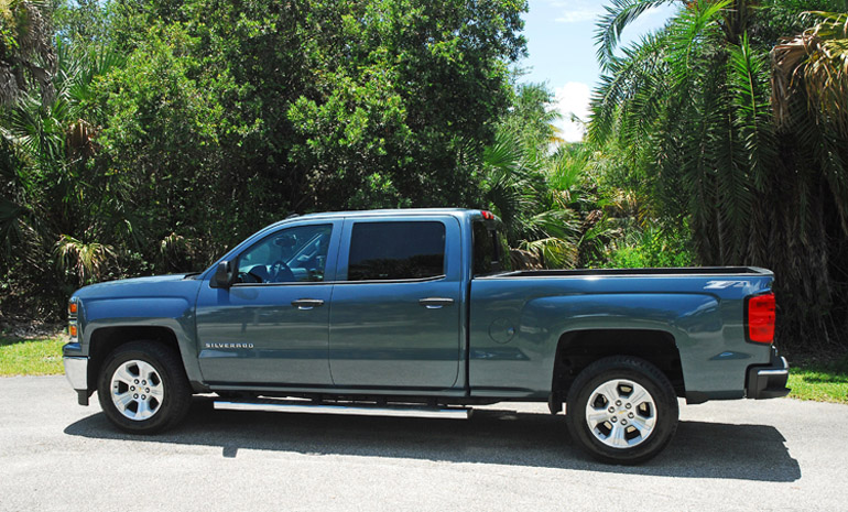 2014 Chevrolet Silverado 1500 53 Z71 2wd LT CrewCab Review  Test