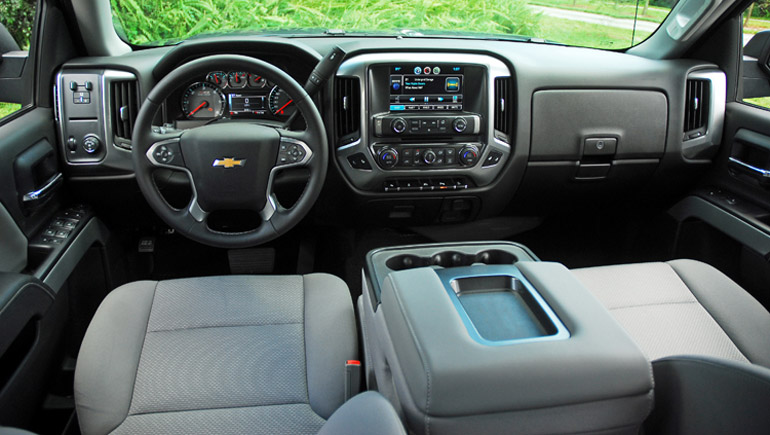 2014 Chevrolet Silverado 1500 5.3 Z71 2wd LT CrewCab Review & Test