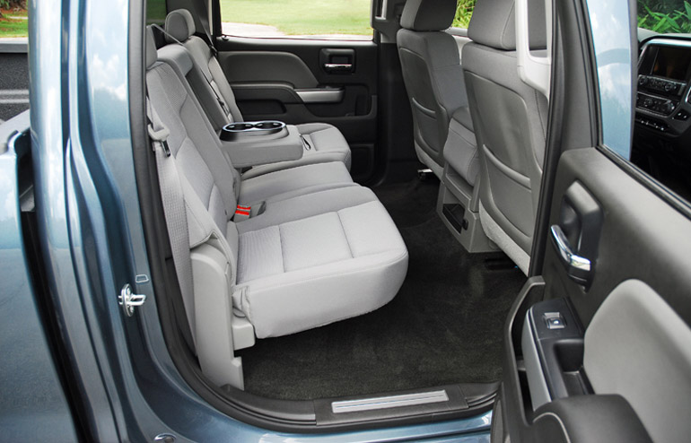 2014 Chevy Silverado 1500 Z71  Crew Rear Seats Done Small