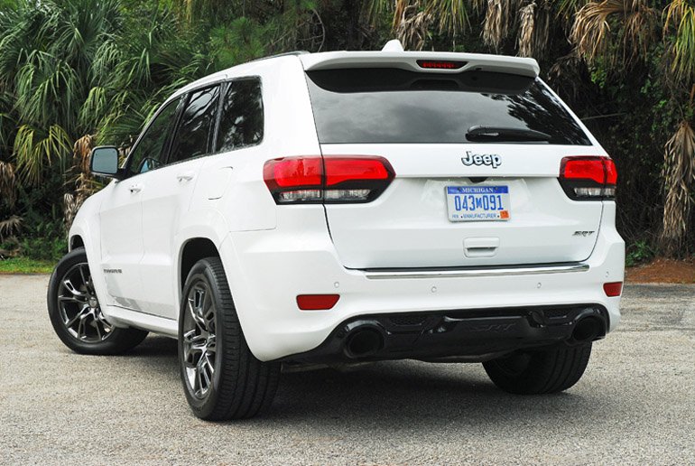 2014 Jeep GC SRT Beauty Rear Low Done Small