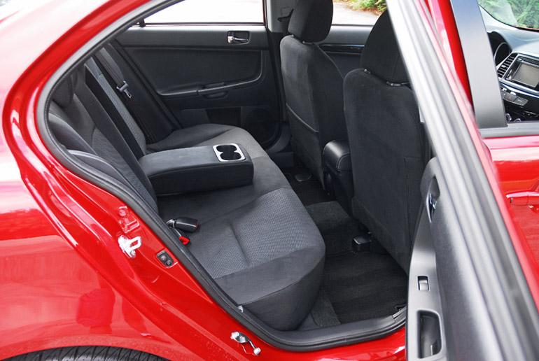 2014 Mitsubishi Lancer GT Back Seats Done Small