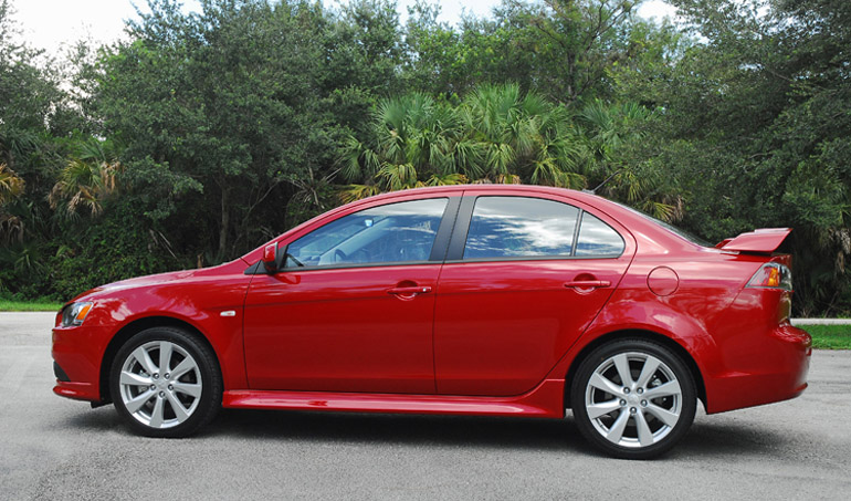 2014 Mitsubishi Lancer GT Beauty Side Done Small