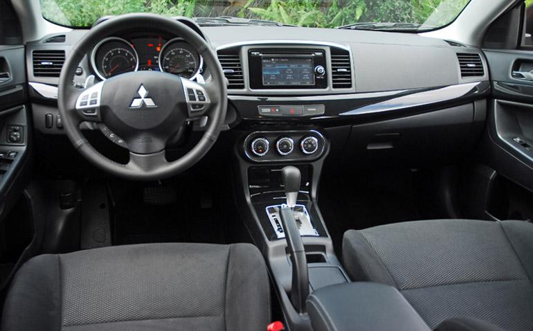 2014 Mitsubishi Lancer GT Dashboard Done Small