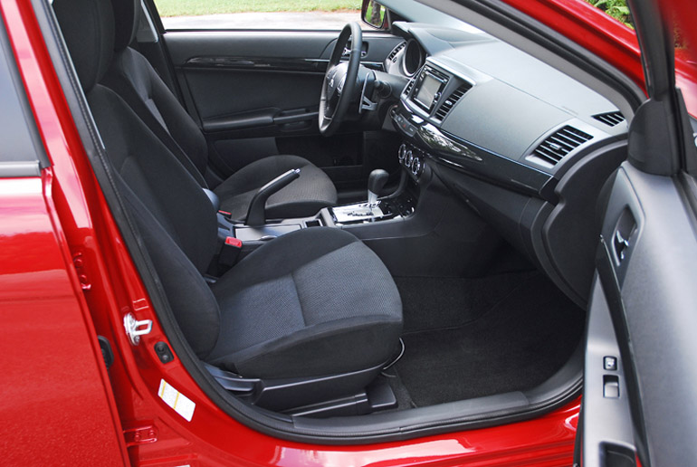 2014 Mitsubishi Lancer GT Front Seats Done Small