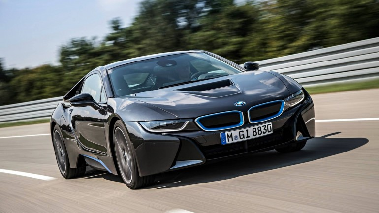 World Debut: 2014 BMW i8, suggested retail price of $135,925