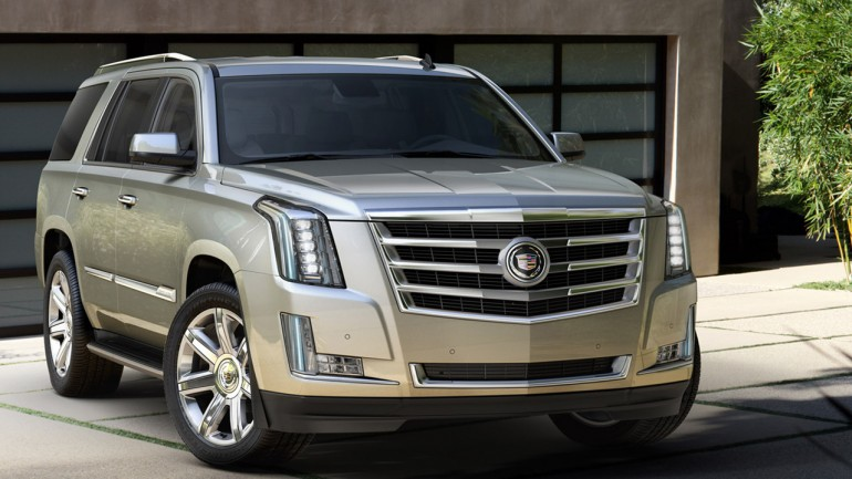 2015 Cadillac Escalade Makes NYC Debut