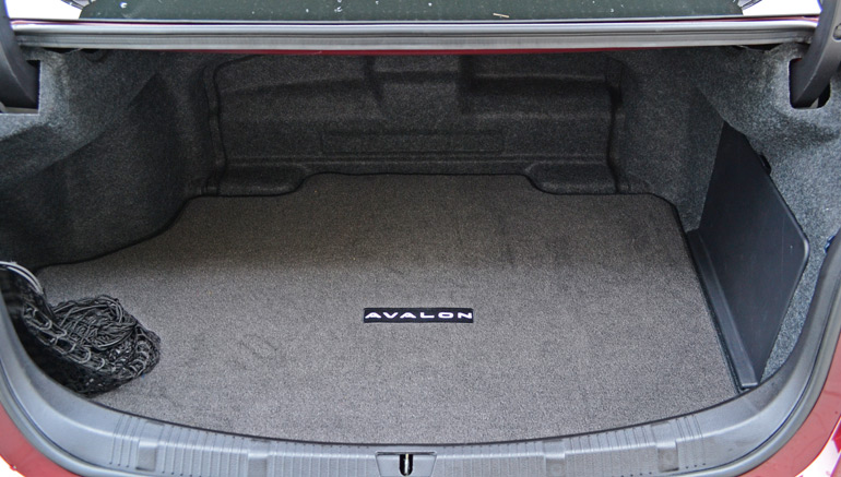 Toyota Avalon Trunk Space | Toyota Blog