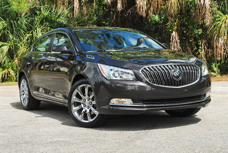 2014 Buick LaCrosse Beauty Left Good Done Small