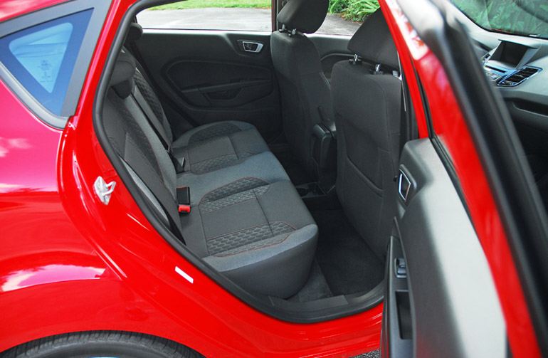 2014 Ford Fiesta SE Rear Seats Done Small