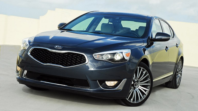 2014 Kia Cadenza Review & Test Drive