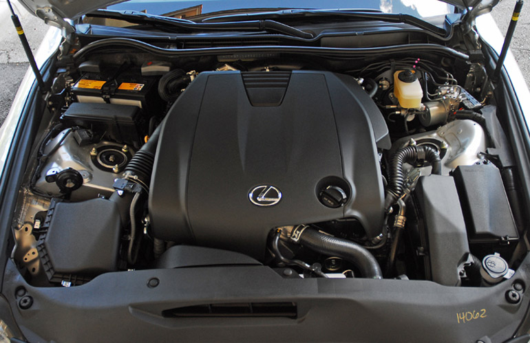 2014 Lexus IS250 Engine Done Small